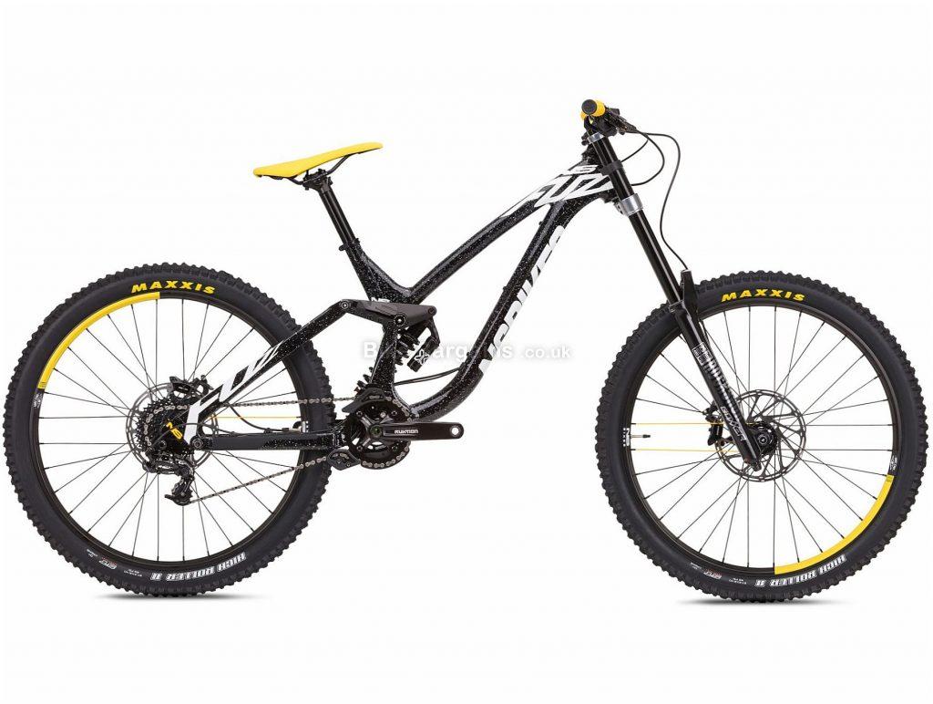 "NS Bikes Fuzz 2 DH 27.5"" Alloy Full Suspension Mountain Bike 2019 L, Black, 27.5"", Alloy, 8 Speed, Full Suspension, 18.1kg"