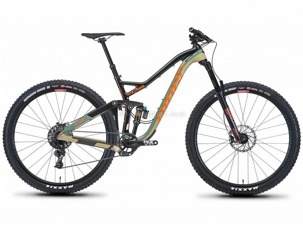 "Niner RIP 9 RDO 1-Star 29"" Carbon Full Suspension Mountain Bike 2019 M, Black, Brown, 29"", Carbon, 11 Speed, Full Suspension"