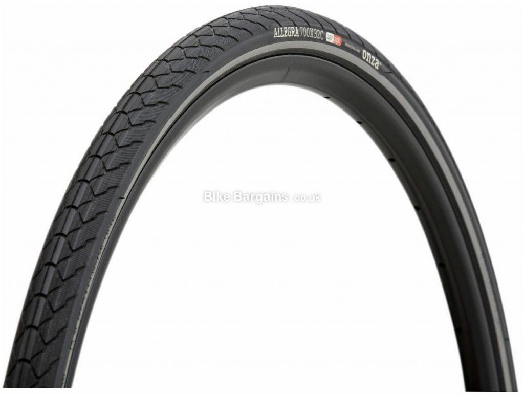 Onza Allegra Zai Wire Road Tyre 700c, 32c, Black, Wire, Road, 510g