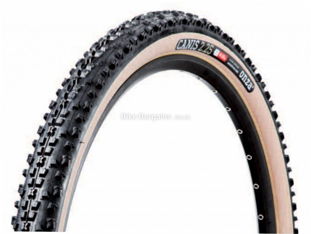 "Onza Canis Tan Wall XC Folding 27.5"" MTB Tyre 27.5"", 2.25"", Black, Folding, MTB, 600g"