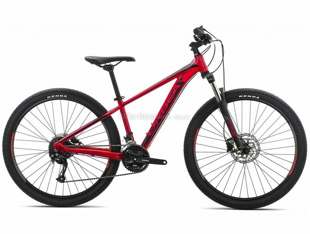 "Orbea XS MX 40 27.5"" Alloy Hardtail Mountain Bike 2019 XS, Yellow, Red, Black, 27.5"", Alloy, 27 Speed, Hardtail"