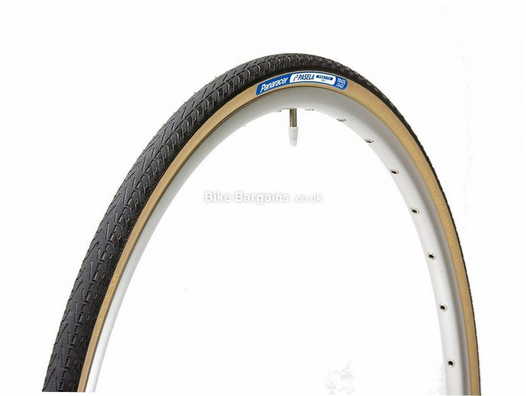 "Panaracer Pasela PT Folding 27.5"" MTB Tyre 27.5"", 1.25"", Black, Brown, Folding, MTB"