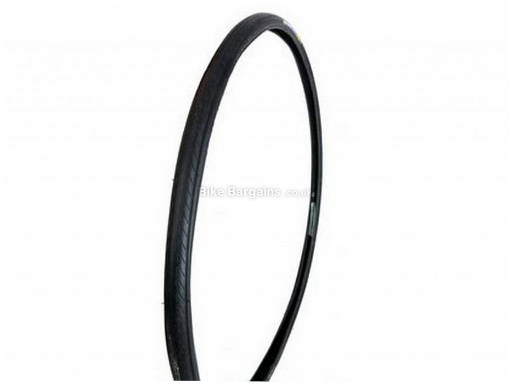Raleigh Compressor Puncture Resistant Wire Road Tyre 700c, 23c, Black, Wire, Road