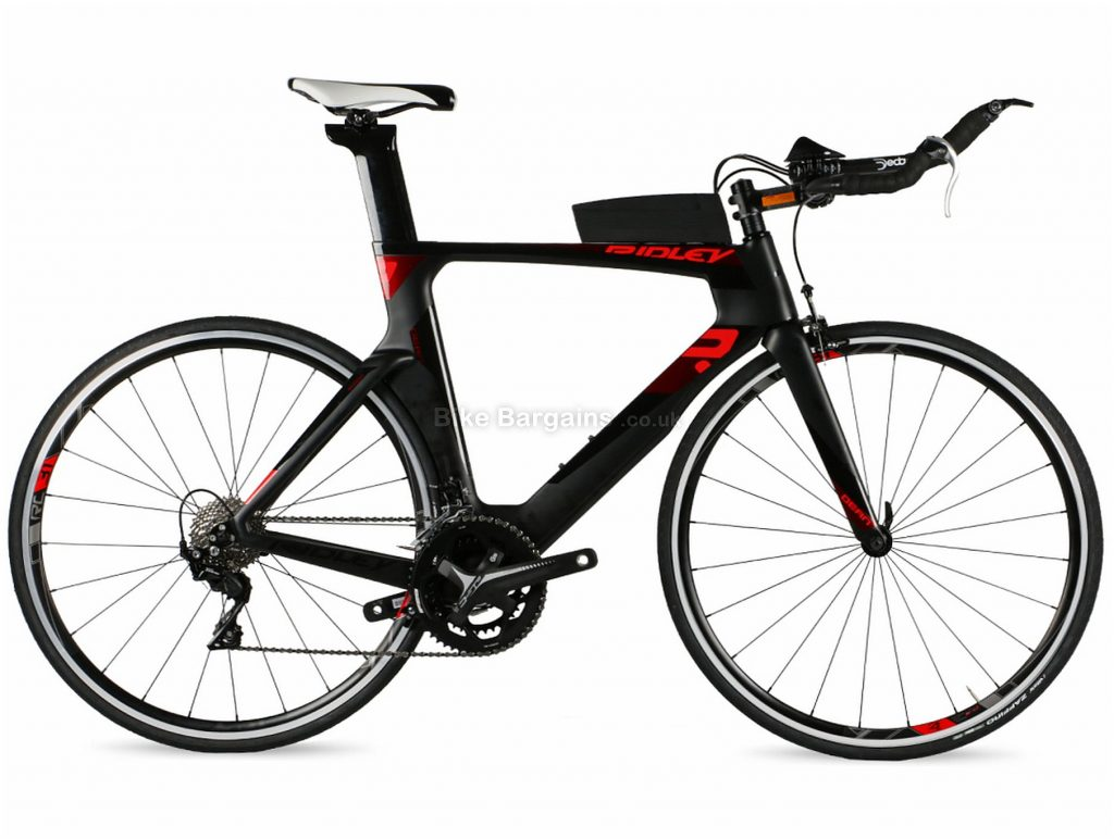 Ridley Dean 105 Mix Carbon Time Trial Road Bike 2019 S, Black, Red