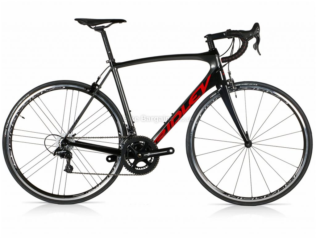 Ridley Fenix SL Potenza Carbon Road Bike 2019 XXS, Black, Red