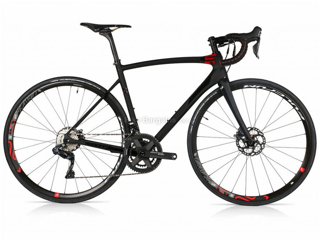Ridley Fenix SLX Ultegra Di2 Disc Carbon Road Bike 2019 L, Black
