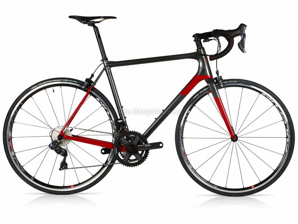 Ridley Helium SLX Ultegra Di2 Carbon Road Bike 2019 L, Grey, Red