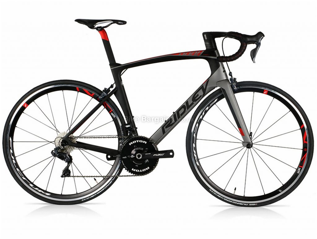 Ridley Noah Fast Ultegra Di2 Fulcrum Carbon Road Bike 2019 M, Grey, Black