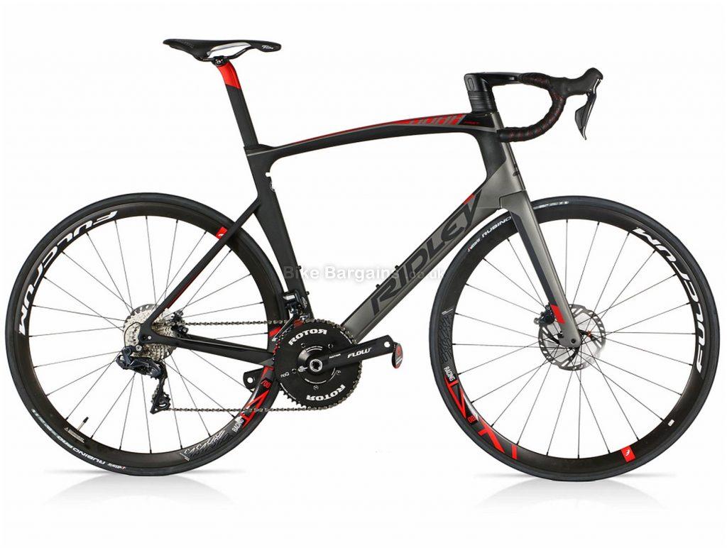 Ridley Noah Fast Ultegra Di2 Fulcrum Disc Carbon Road Bike 2019 S, Grey, Black