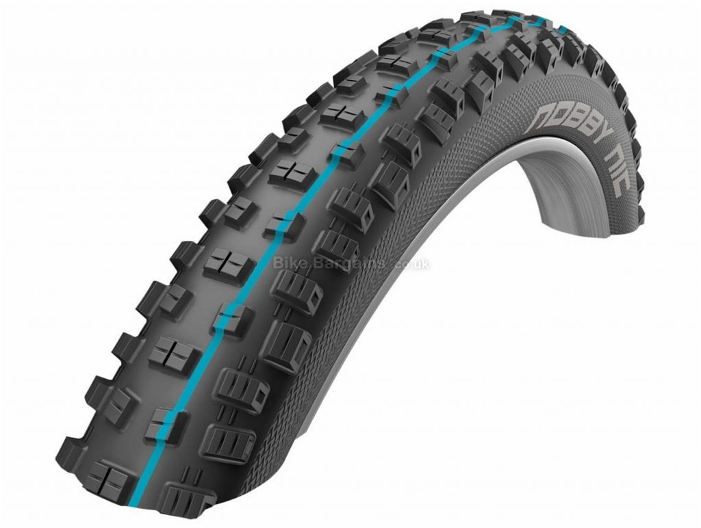"Schwalbe Nobby Nic Addix Folding 27.5"" MTB Tyre 27.5"", 2.8"", Black, Folding, MTB"