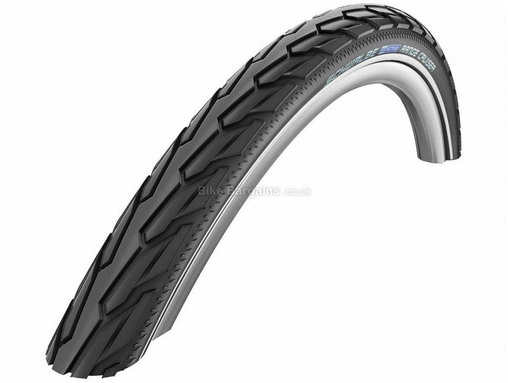 Schwalbe Range Cruiser K-Guard Wire Road Tyre 700c, 38c, Black, Wire, Road, 630g