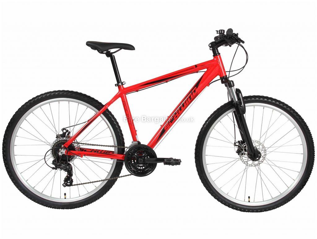 """Schwinn Rocket 5 27.5"""" Alloy Hardtail Mountain Bike 2020 S, Red, 27.5"""", Alloy, 21 Speed, Hardtail"""