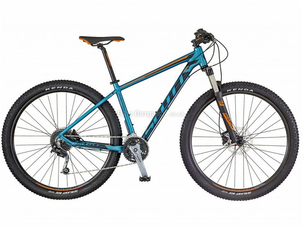 "Scott Aspect 930 Alloy Hardtail Mountain Bike 2018 S, Blue, 27.5"", 29"", Alloy, 27 Speed, Hardtail,"