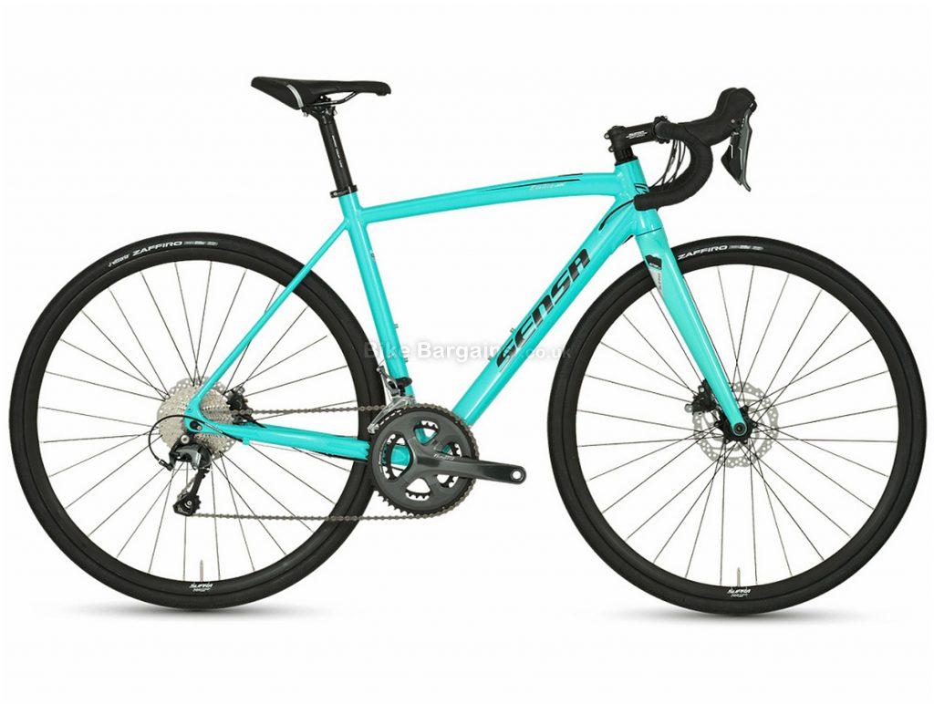 Sensa Emilia Lady Tiagra Disc Alloy Ladies Road Bike 2020 48cm, Turquoise