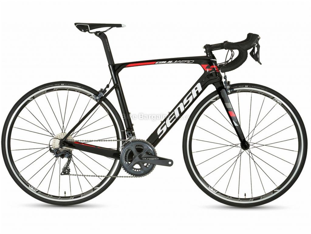 Sensa GiuliAero Ultegra Carbon Road Bike 2019 55cm, Black