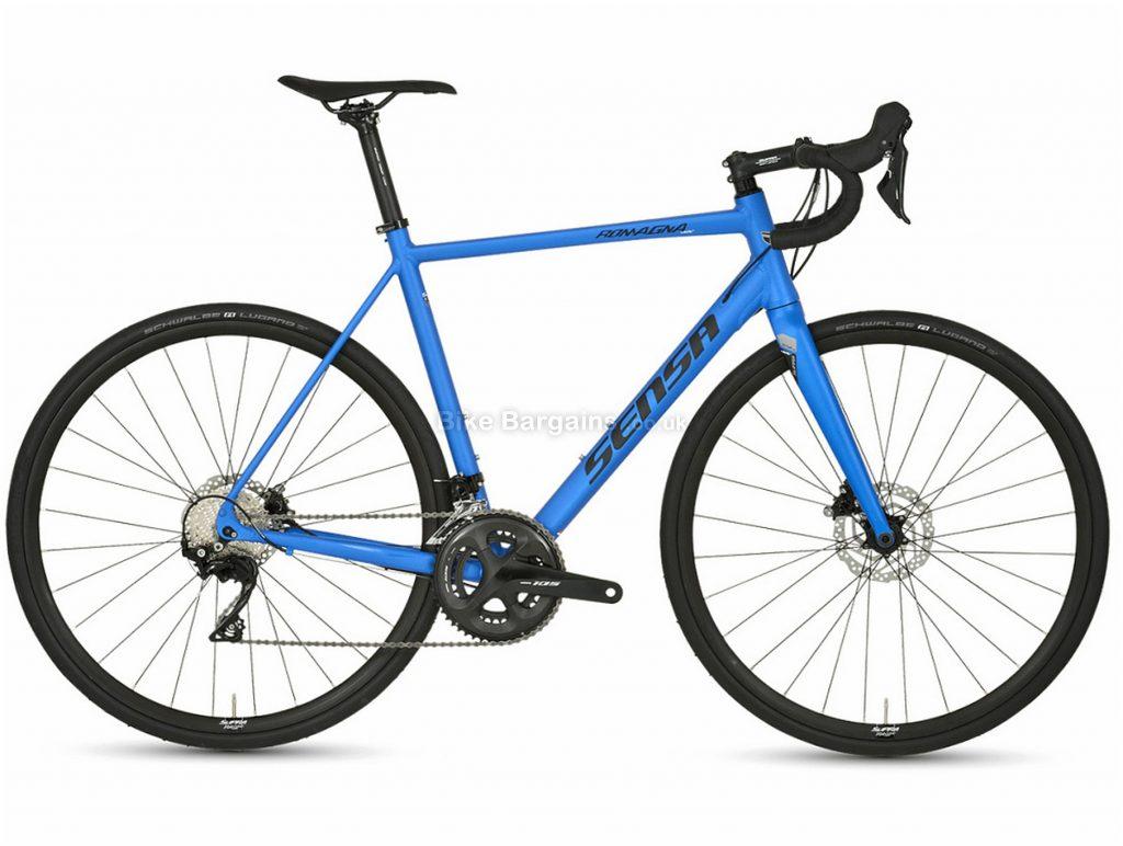 Sensa Romagna LTD 105 Disc Alloy Road Bike 2020 51cm, 56cm, Blue