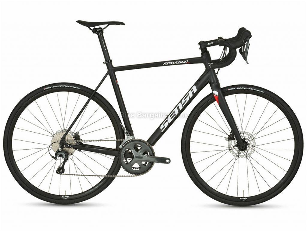 Sensa Romagna Tiagra Disc Alloy Road Bike 2020 51cm, Black