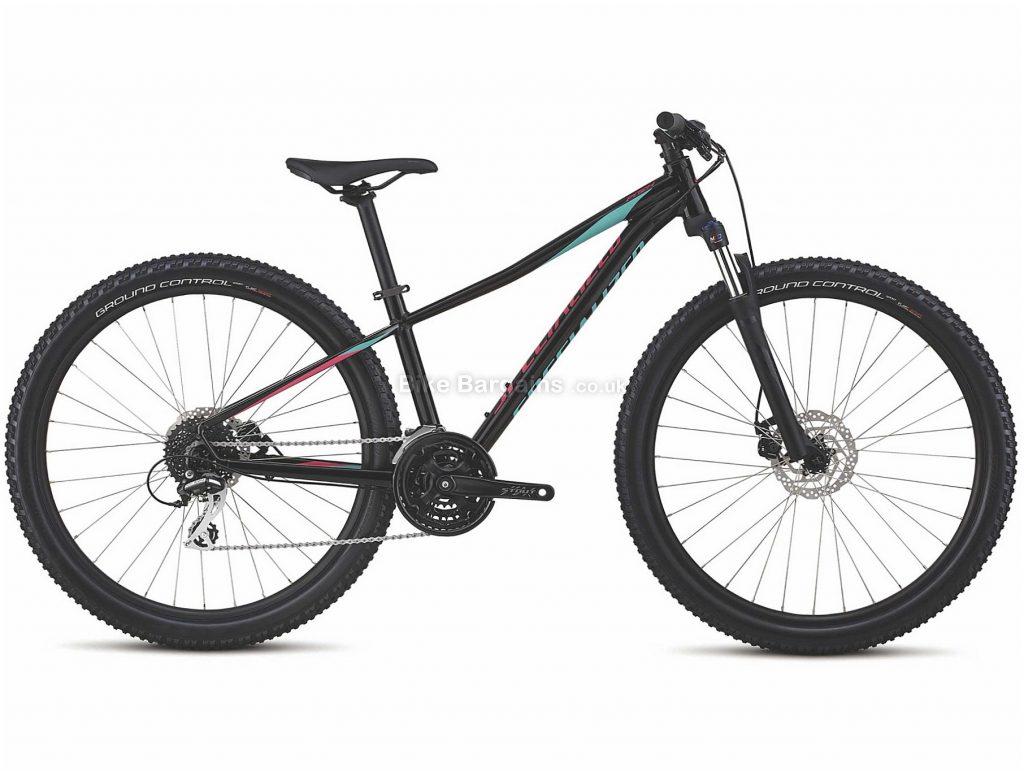 """Specialized Pitch Sport Ladies 27.5"""" Alloy Hardtail Mountain Bike 2019 XS,S,M,L, Black, 27.5"""", Alloy, 24 Speed, Hardtail"""