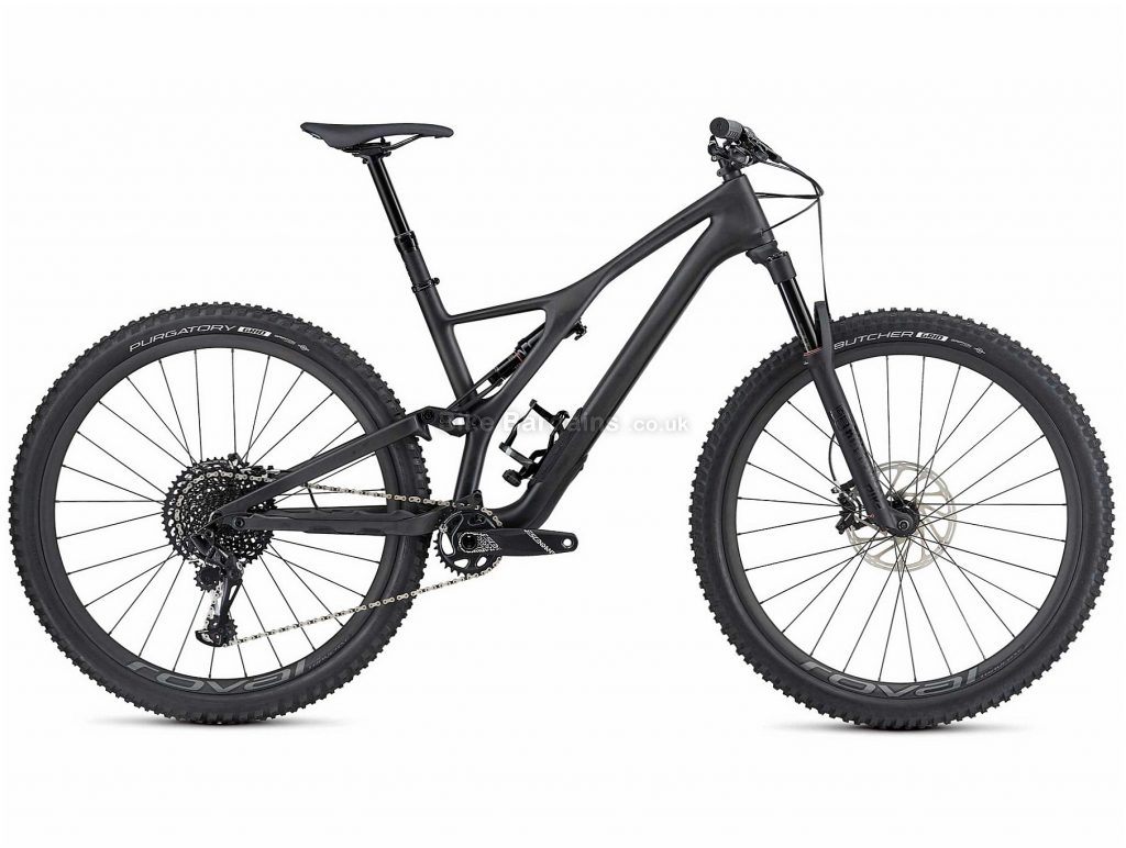"Specialized Stumpjumper ST Expert 29"" Carbon Full Suspension Mountain Bike 2019 S,M, Black, 29"", Carbon, 12 Speed, Full Suspension"