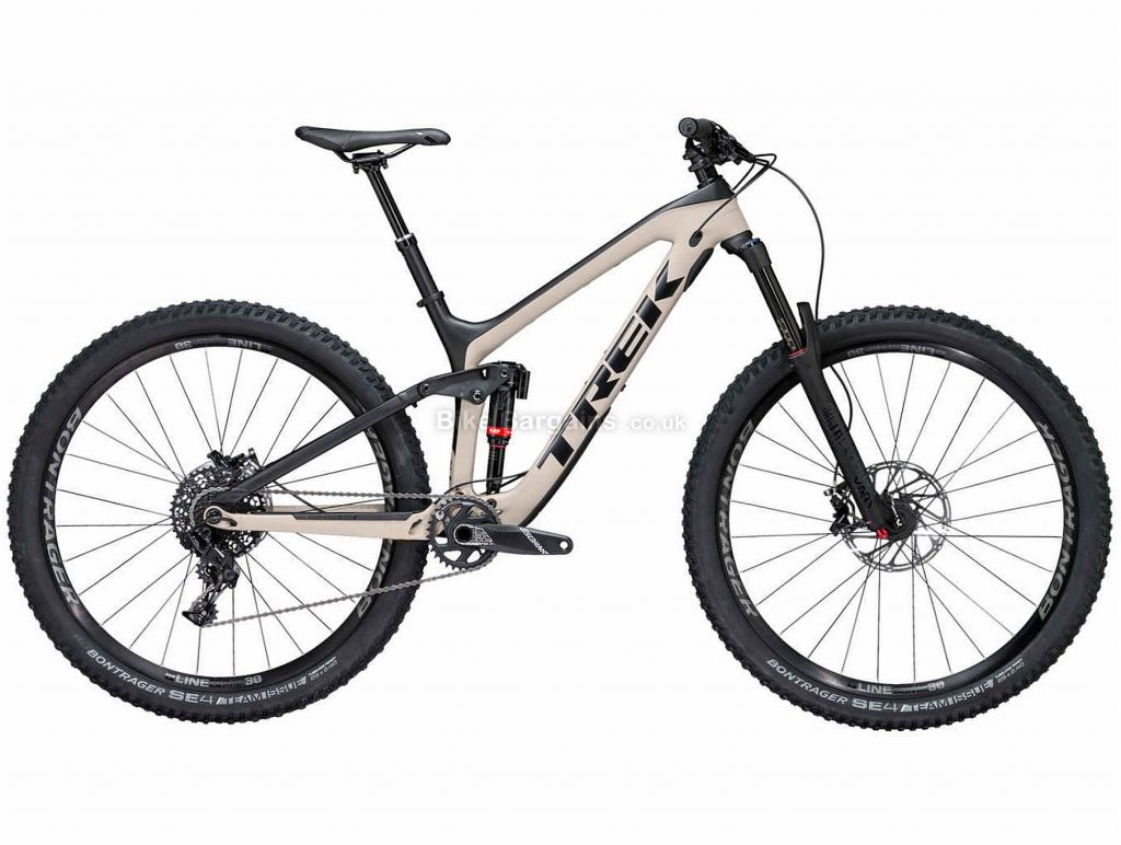 "Trek Slash 9.7 29"" Carbon Hardtail Mountain Bike 2018 15"", Grey, Black, 29"", Carbon, 11 Speed, Hardtail"
