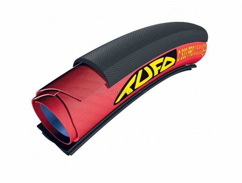 Tufo S33 Pro Tubular Clincher Folding Road Tyre 700c, 21c, Black, Folding, Road, 215g