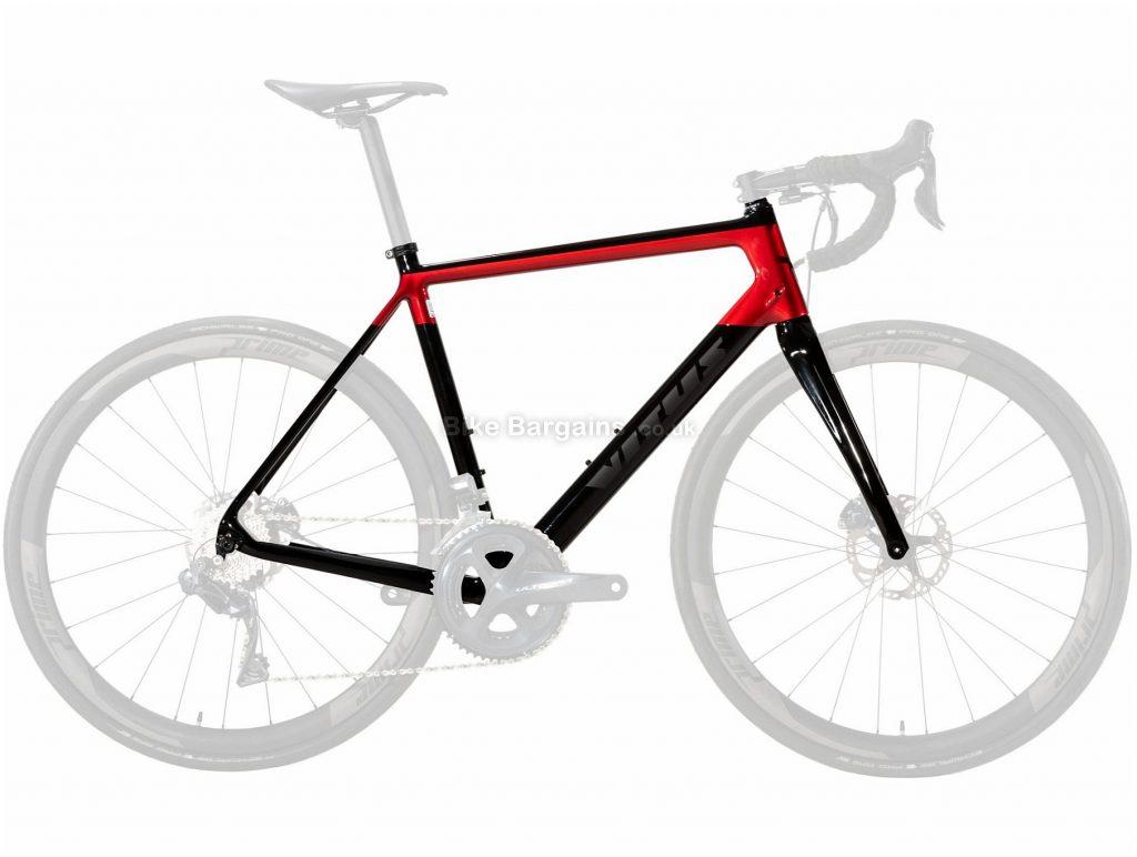 Vitus Venon CRi Disc Carbon Road Frame 2019 M, Black, Red, Carbon, Disc, 700c