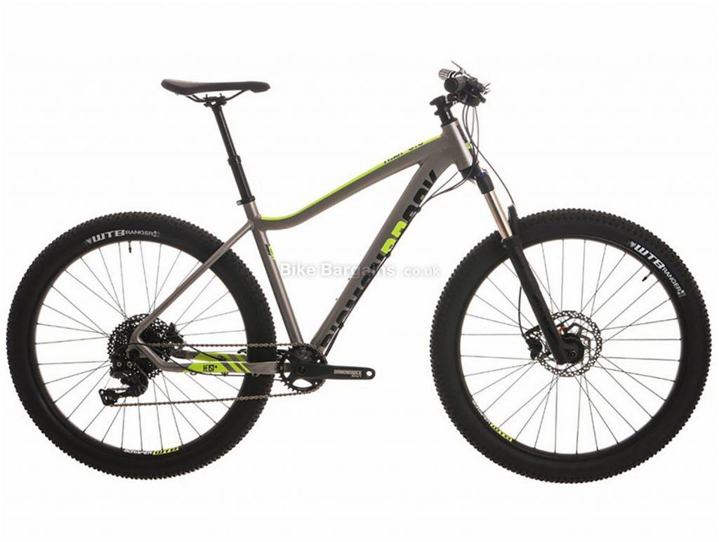 "Diamondback Heist 3.0 Plus 27.5"" Alloy Hardtail Mountain Bike 2018 14"", Grey, 27.5"", Alloy, 11 Speed, Hardtail"