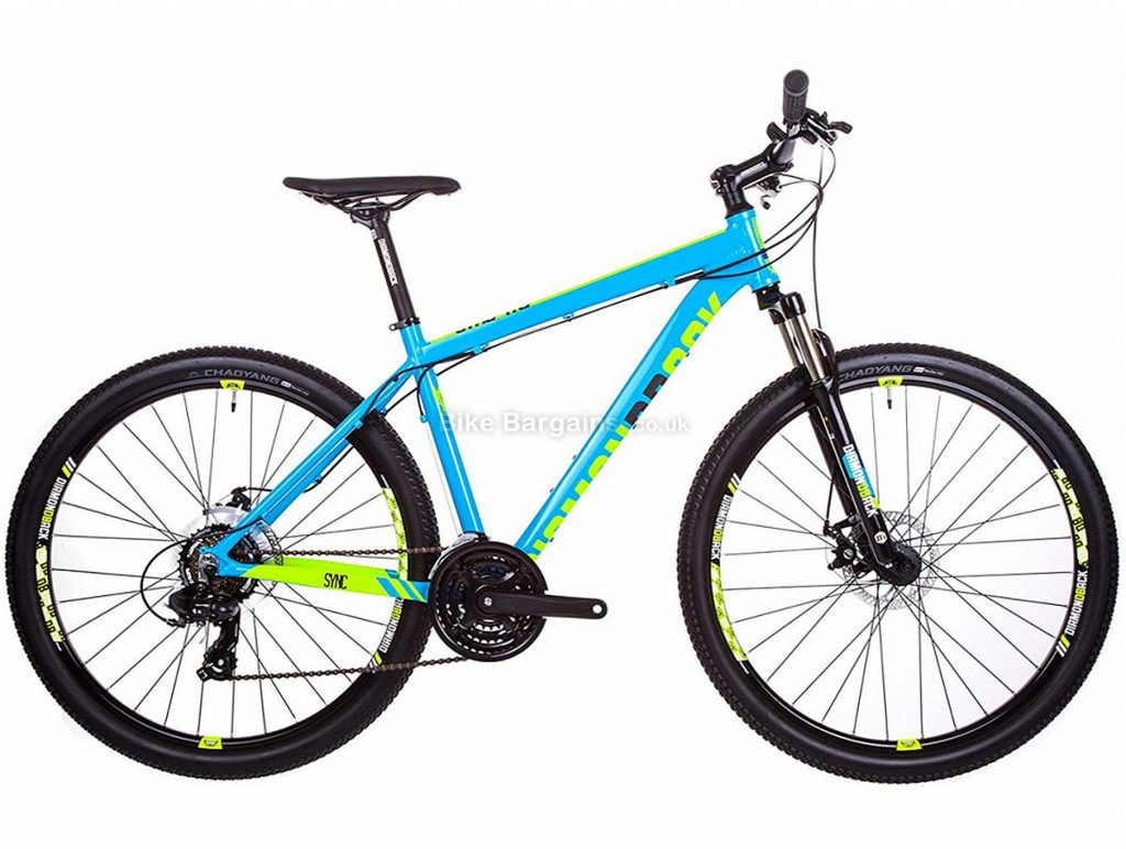 "Diamondback Sync 1.0 27.5"" Alloy Hardtail Mountain Bike 2018 14"", 16"", 18"", 20"", 22"", Black, 27.5"", Alloy, 7 Speed, Hardtail"