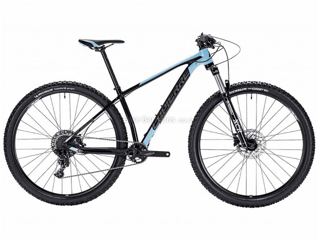 "Lapierre Prorace 229W Ladies 29"" Alloy Hardtail Mountain Bike 2018 XS, Black, Blue, 29"", Alloy, 11 Speed, Hardtail"