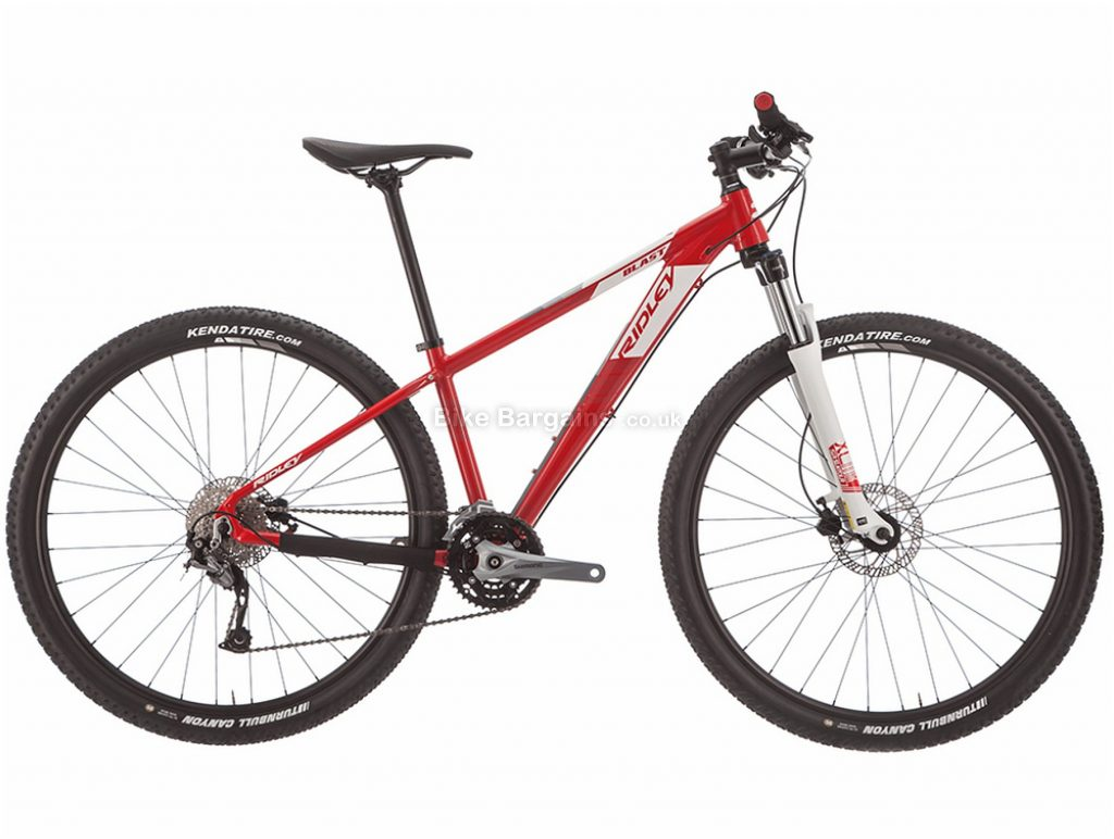"Ridley Blast Alivio 29"" Alloy Hardtail Mountain Bike 2019 L, Red, 29"", Alloy, 9 Speed, Hardtail"