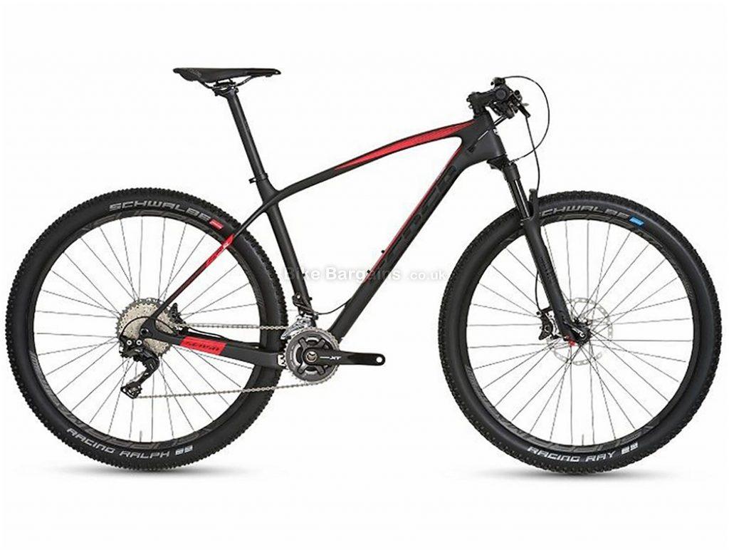 """Sensa Fiori Evo SL XT 29"""" Carbon Hardtail Mountain Bike 2019 15"""", Black, 29"""", Carbon, 11 Speed, Hardtail"""