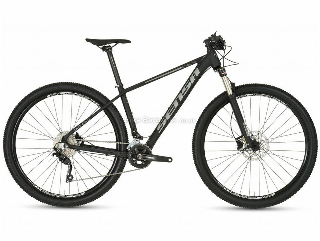 """Sensa Livigno Evo Sport 29"""" Alloy Hardtail Mountain Bike 2020 17"""",19"""", Black, 29"""", Alloy, 20 Speed, Hardtail"""