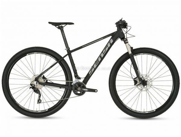 """Sensa Livigno Evo Sport 29"""" Alloy Hardtail Mountain Bike 2020 17"""", Black, 29"""", Alloy, 20 Speed, Hardtail"""