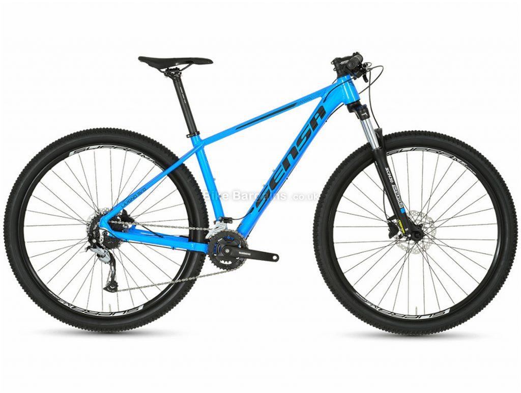 """Sensa Livigno Evo Tour 29"""" Alloy Hardtail Mountain Bike 2020 19"""", Blue, 29"""", Alloy, 9 Speed, Hardtail"""