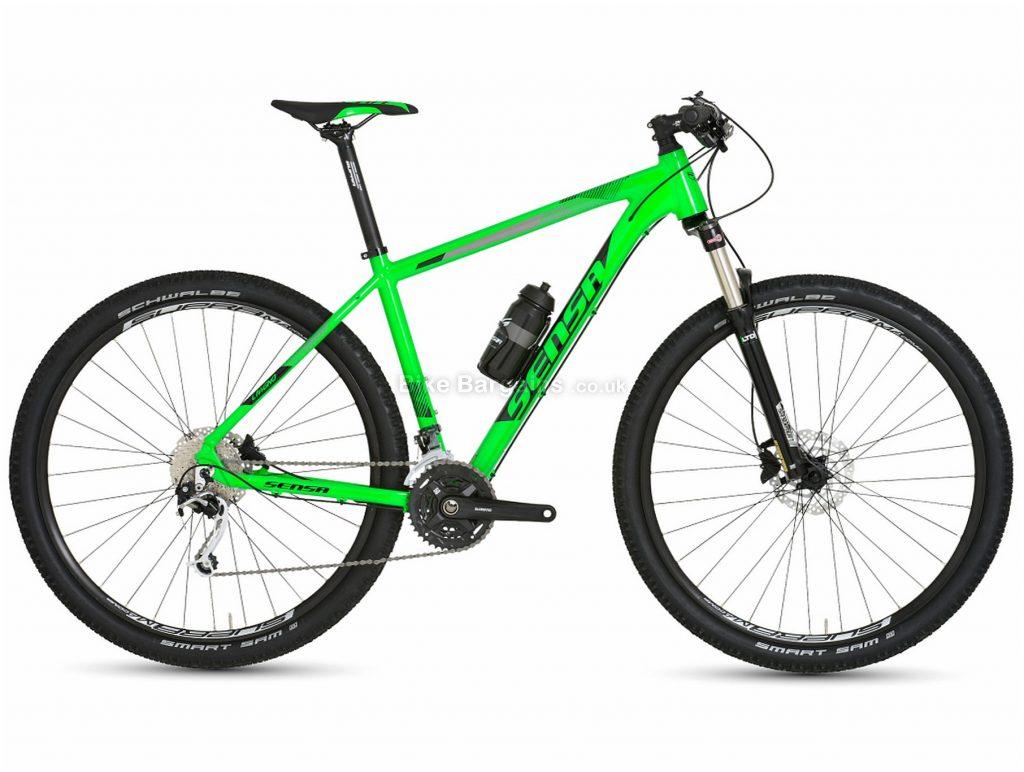 """Sensa Livigno Limited Tour 29"""" Alloy Hardtail Mountain Bike 2019 15"""", Green, 29"""", Alloy, 9 Speed, Hardtail"""