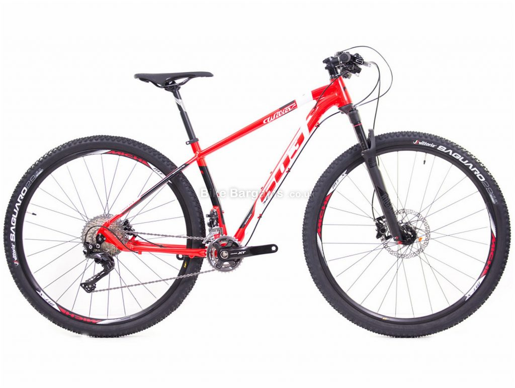 "Wilier 503X XT 2x11 29"" Alloy Hardtail Mountain Bike 2019 M, Red, White, Black, Yellow, 29"", Alloy, 11 Speed, Hardtail"