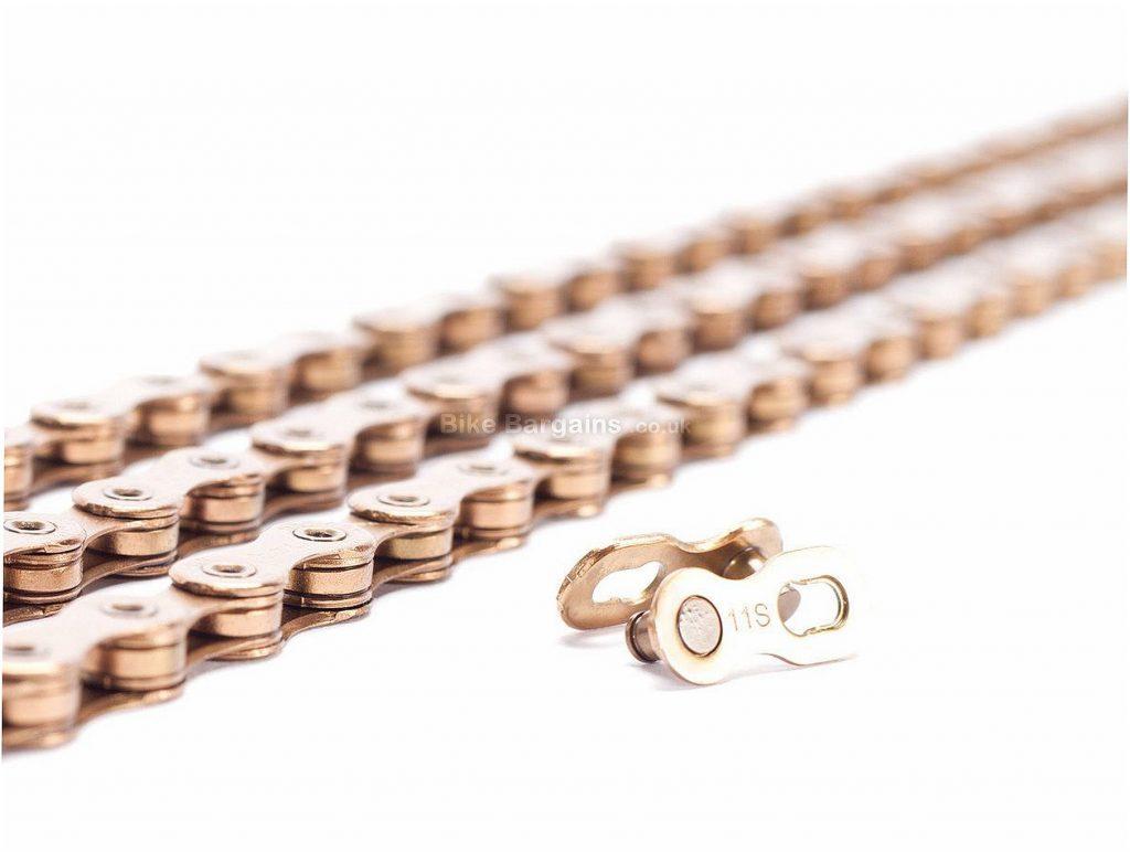 Box Hex Lab 11 Speed Chain 11 Speed, 116 links, 245g, Steel, Gold, MTB