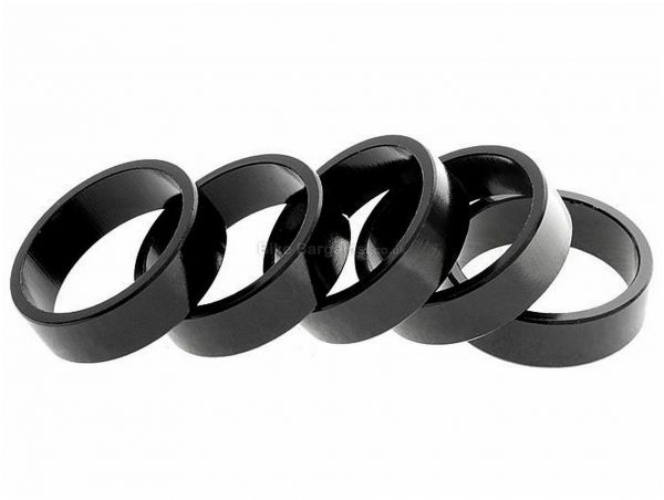 Brand-X Alloy 10mm Spacer 5 Pack 10mm, Alloy, Black, Blue, Gold, Silver
