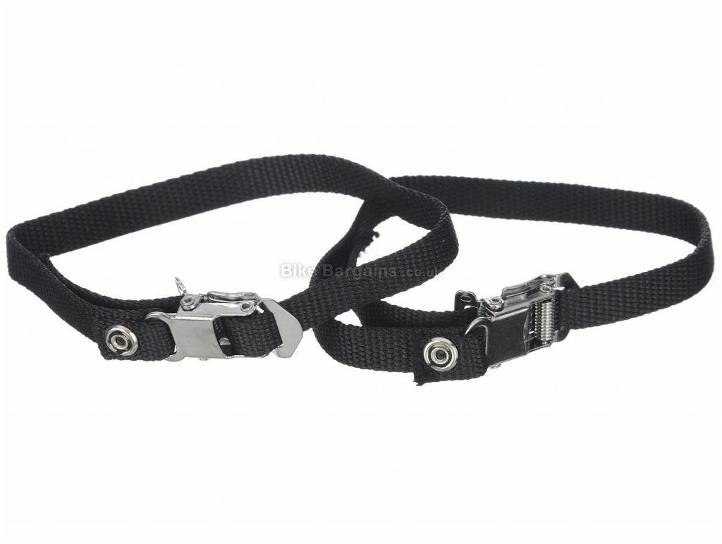 Brand-X Toe Straps 400mm, Nylon, Black, Silver