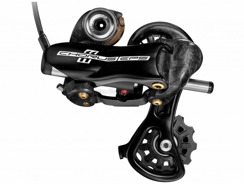 Campagnolo Chorus EPS 11 speed Rear Mech 11 Speed, Black, 225g, Road, Alloy, Carbon