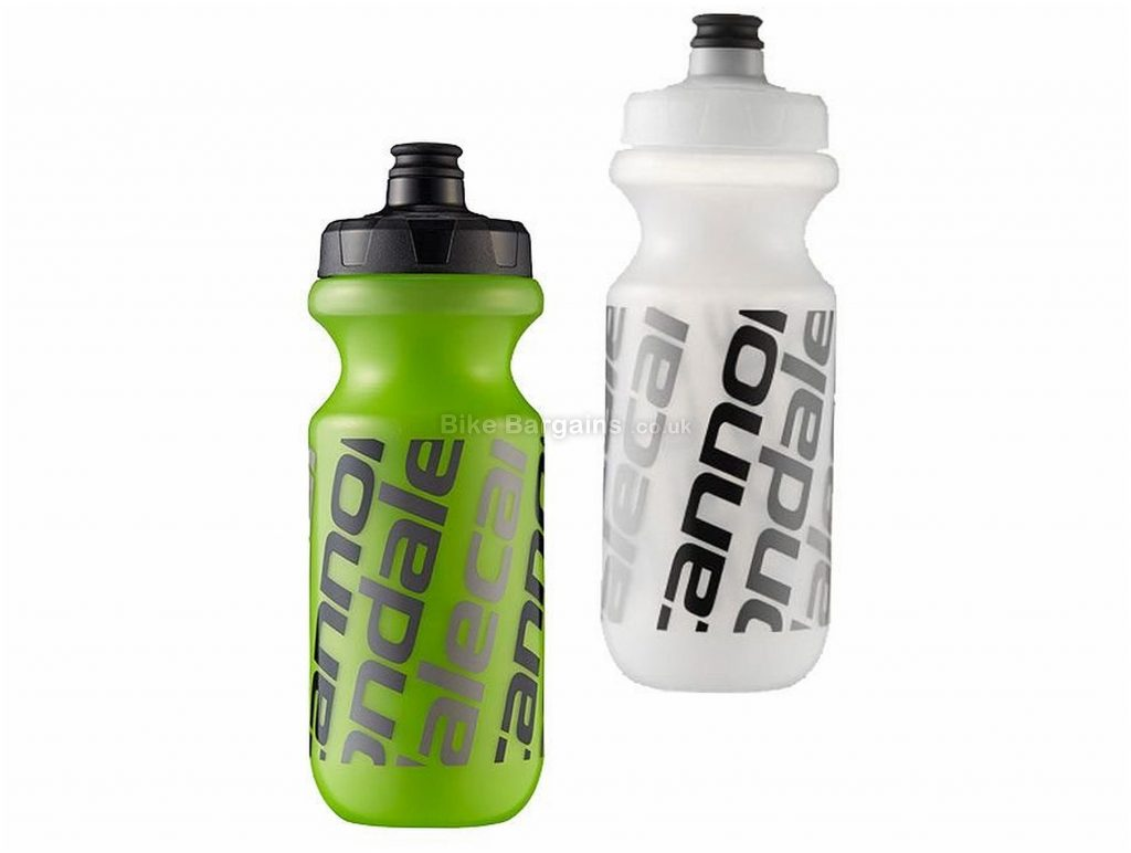 Cannondale Diag Logo 600ml Water Bottle 600ml, Green, Black