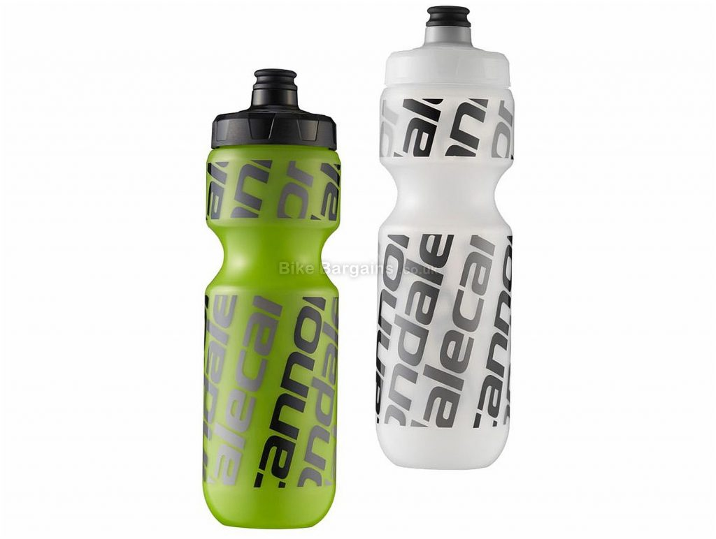 Cannondale Diag Logo 750ml Water Bottle 750ml, Green, Black, Transparent
