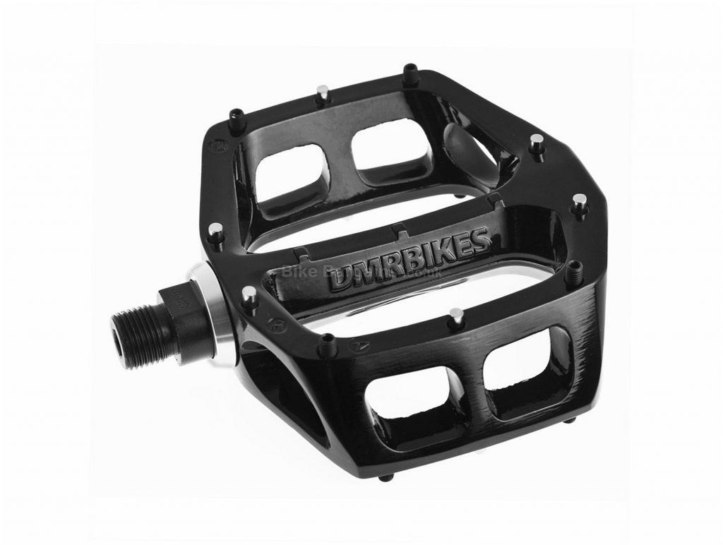 """DMR V8 Classic Flat Pedals Flat, MTB, 528g, Steel, Black, Silver, 9/16"""""""