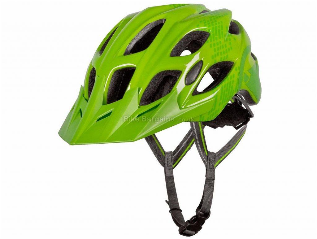 Endura Hummvee MTB Helmet M,L, Green, 18 vents