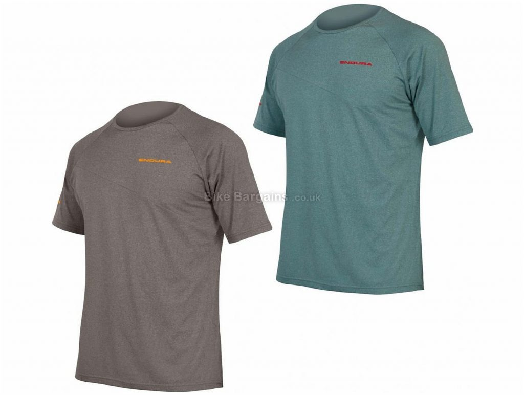 Endura Singletrack Lite Short Sleeve Tee S, Grey