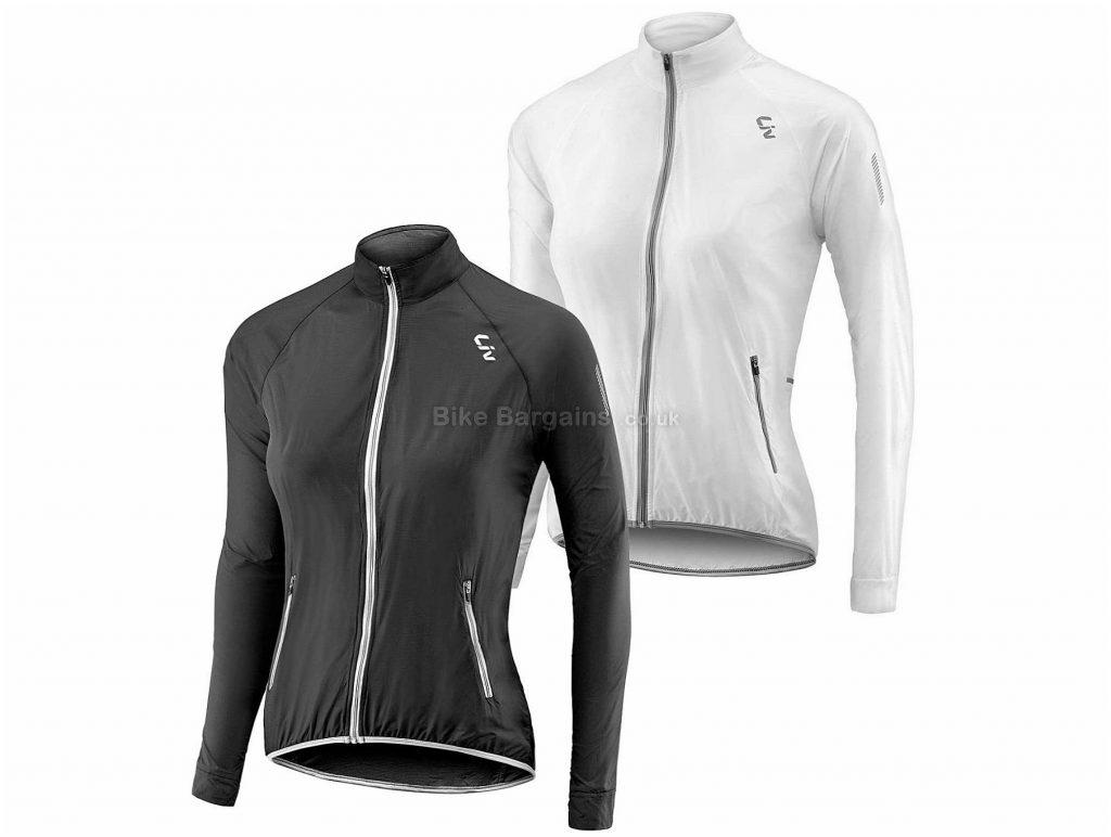 Giant Liv Cefira Ladies Wind Jacket L, Black