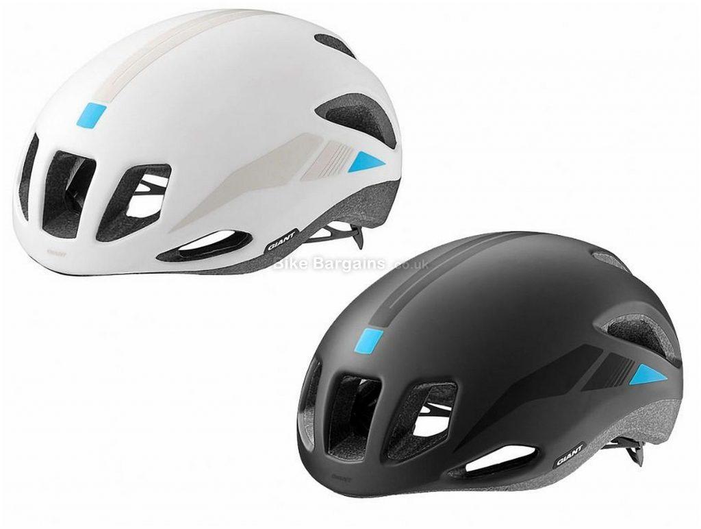 Giant Rivet Aero Road Helmet 2018 S, White, 9 vents