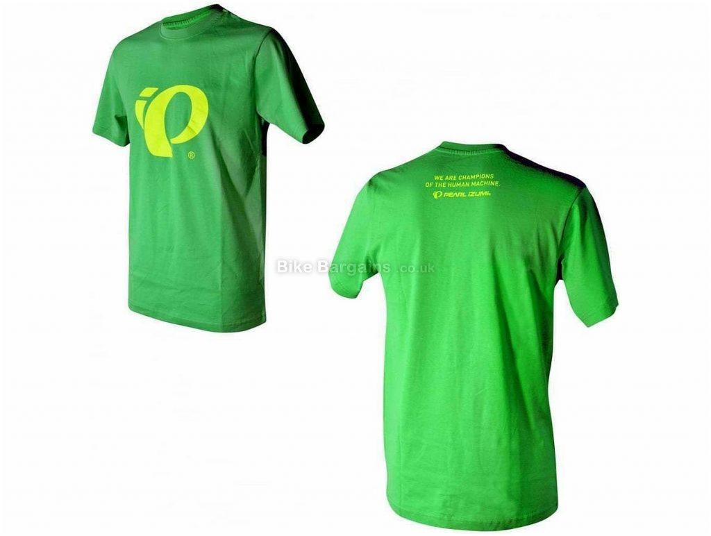 Pearl Izumi Pi Graphic Logo T-shirt XS, Green