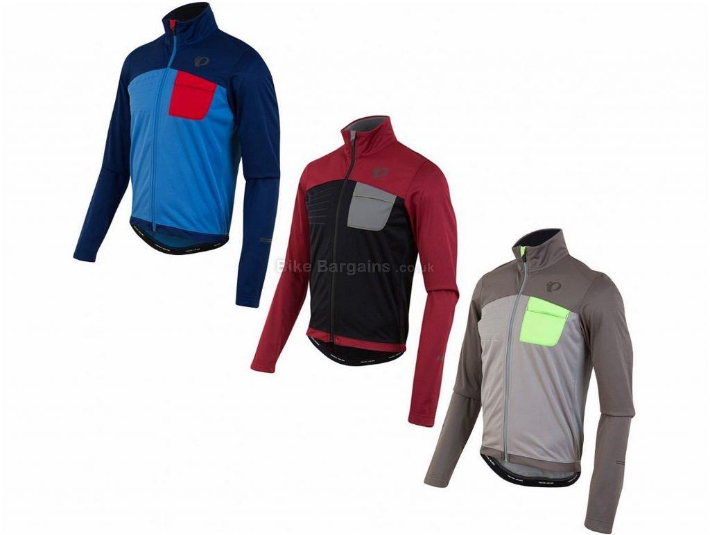 Pearl Izumi Select Escape Softshell Windproof Jacket S,M,XL, Grey