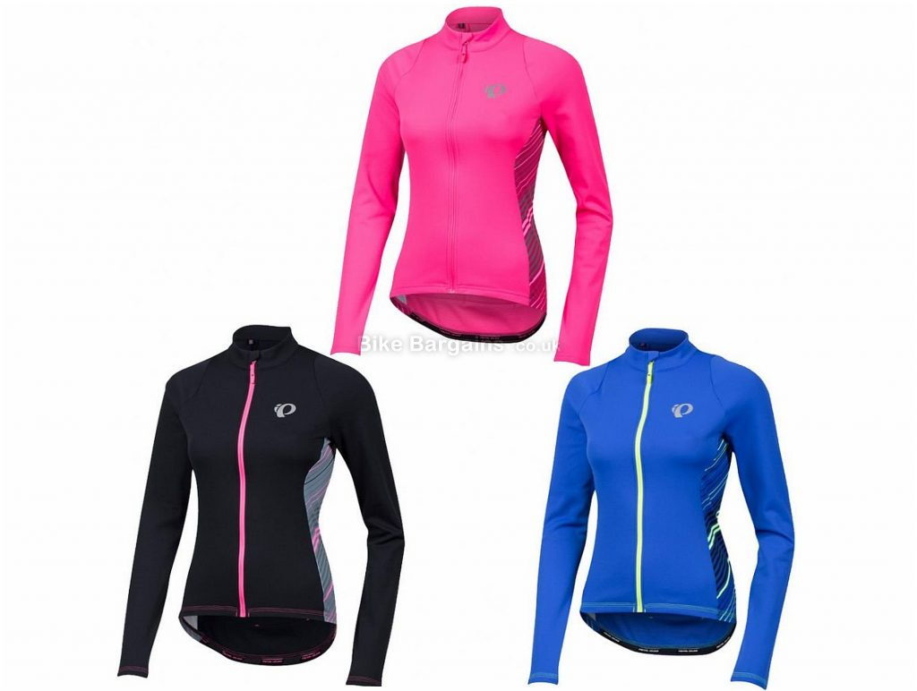 Pearl Izumi Select Pursuit Thermal Ladies Long Sleeve Jersey 2018 XL, Pink